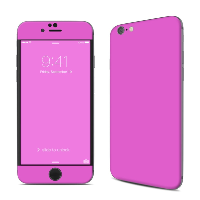Solid State Vibrant Pink iPhone 6s Skin
