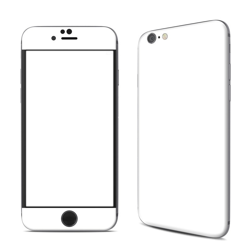 Solid State White iPhone 6s Skin