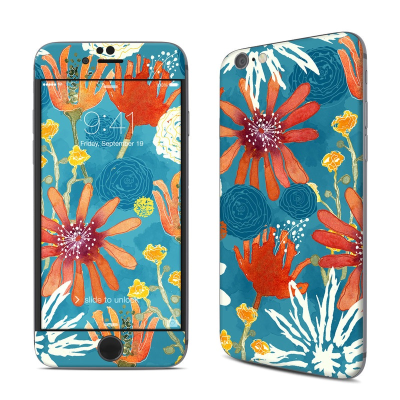 Sunbaked Blooms iPhone 6s Skin