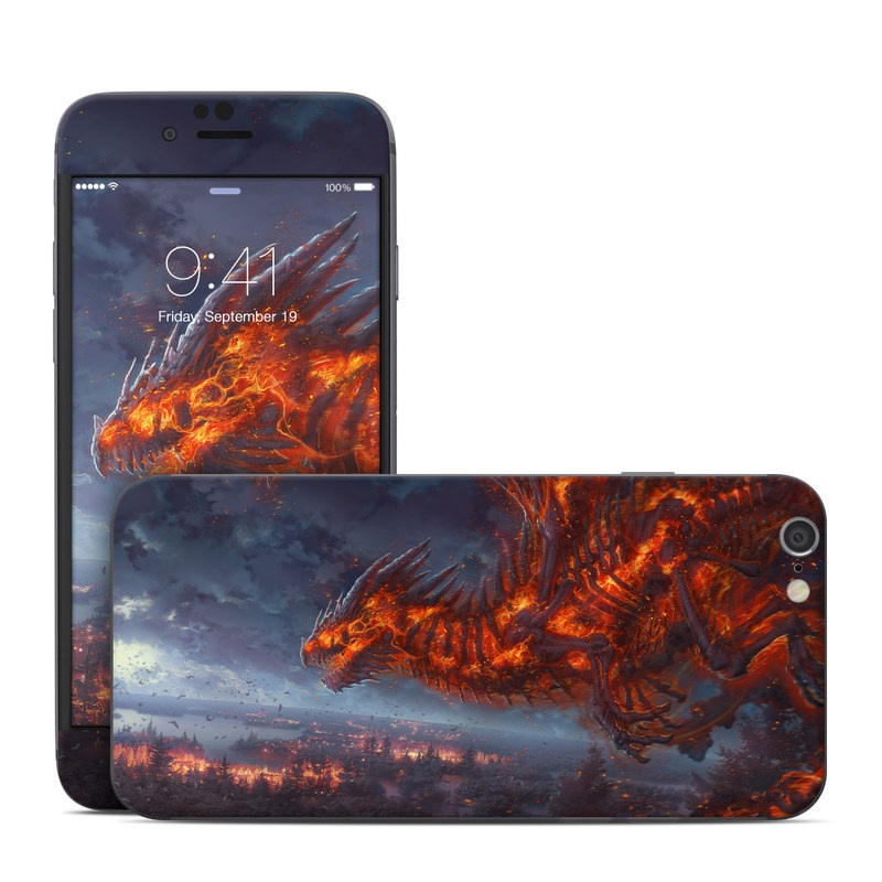 Terror of the Night iPhone 6s Skin