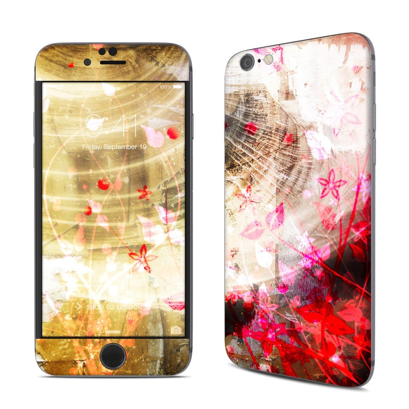 Woodflower iPhone 6s Skin