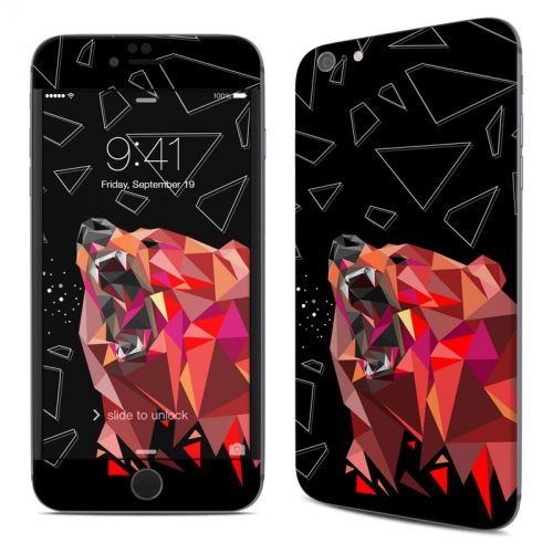 Bears Hate Math iPhone 6s Plus Skin