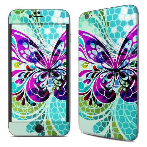 Butterfly Glass iPhone 6s Plus Skin