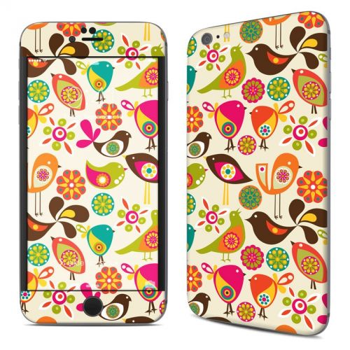 Bird Flowers iPhone 6s Plus Skin