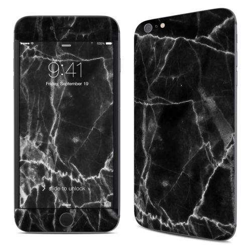 Black Marble iPhone 6s Plus Skin