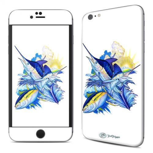 Blue White and Yellow iPhone 6s Plus Skin