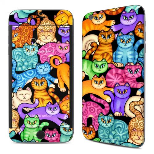 Colorful Kittens iPhone 6s Plus Skin