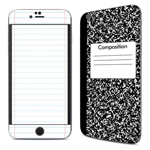 Composition Notebook iPhone 6s Plus Skin