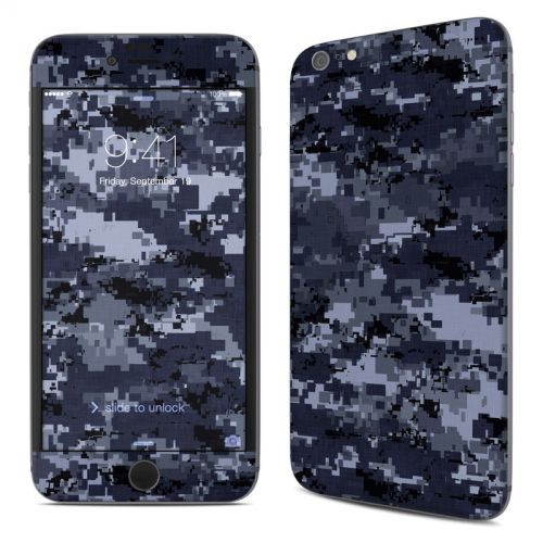 Digital Navy Camo iPhone 6s Plus Skin