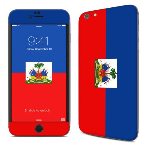 Haiti Flag iPhone 6s Plus Skin