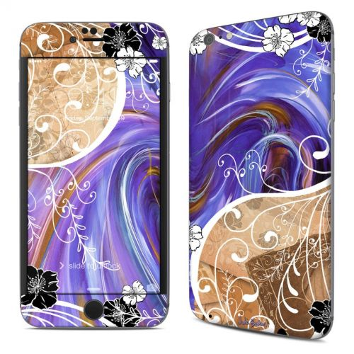 Purple Waves iPhone 6s Plus Skin
