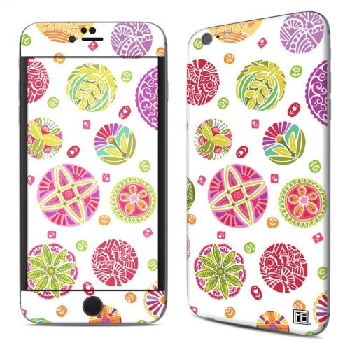 Round Flowers iPhone 6s Plus Skin