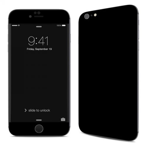 Solid State Black iPhone 6s Plus Skin