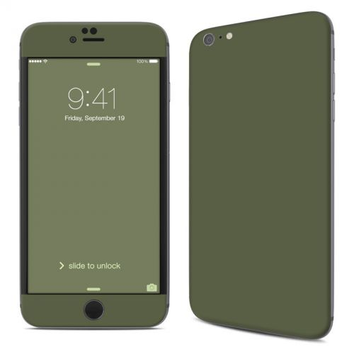 Solid State Olive Drab iPhone 6s Plus Skin