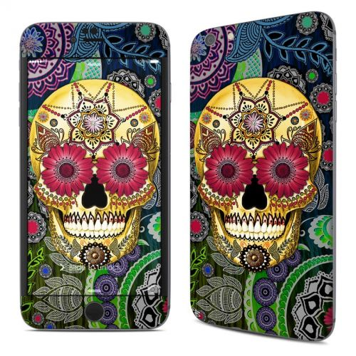 Sugar Skull Paisley iPhone 6s Plus Skin