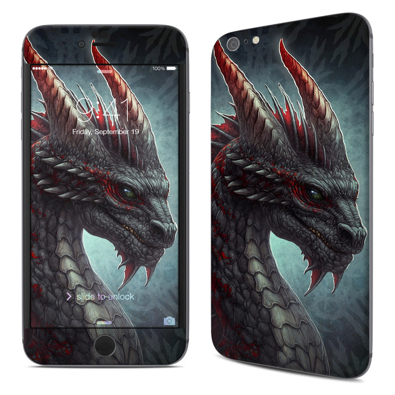 Black Dragon iPhone 6s Plus Skin