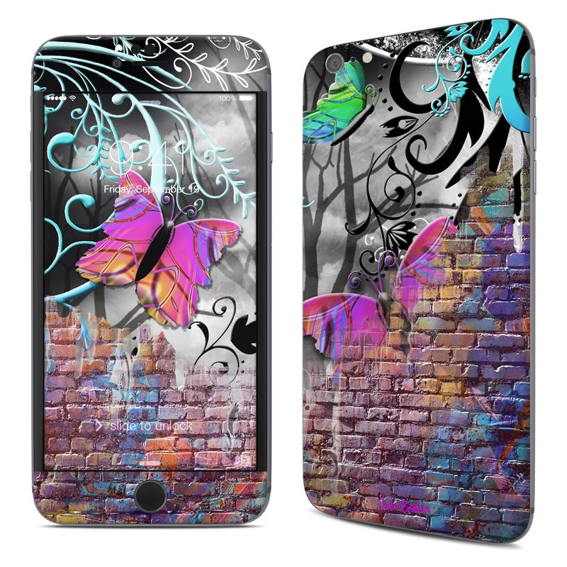 Butterfly Wall iPhone 6s Plus Skin