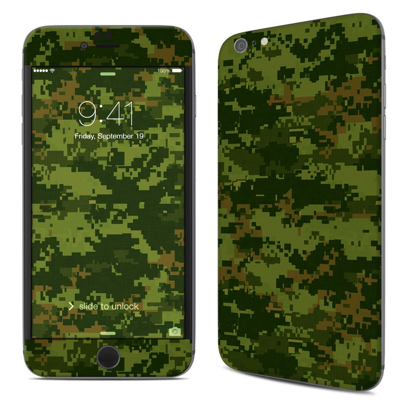 iPhone 6s Plus Skin design of Military camouflage, Green, Pattern, Uniform, Camouflage, Clothing, Design, Leaf, Plant with green, brown colors