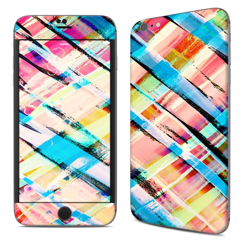 Check Stripe iPhone 6s Plus Skin