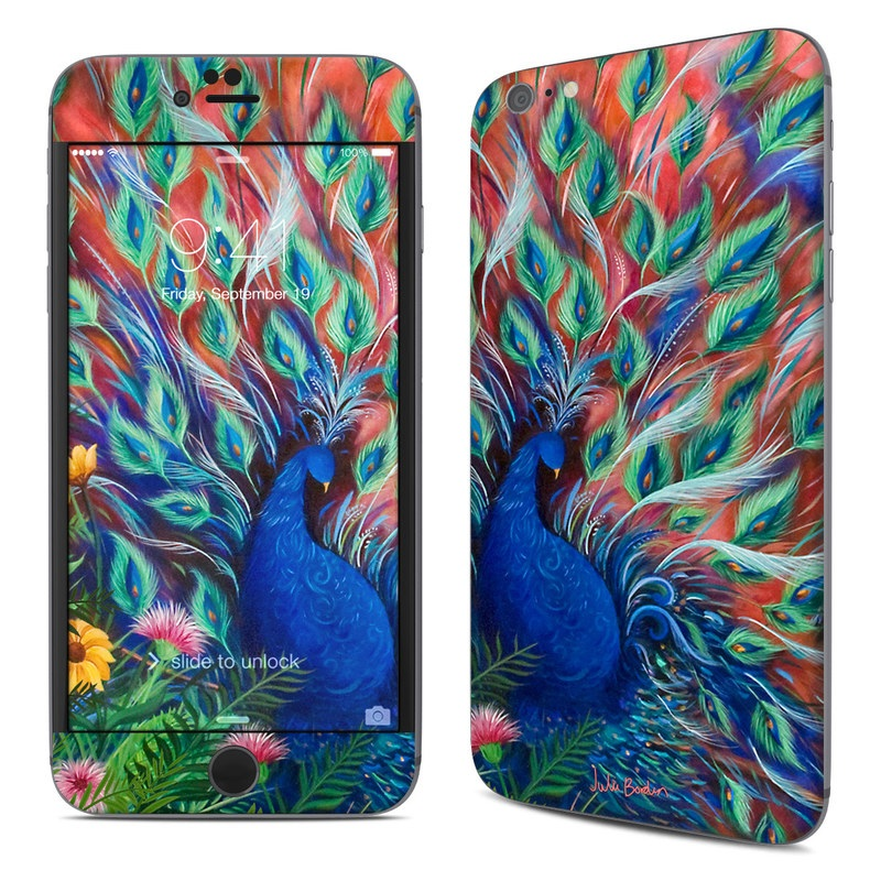 Coral Peacock iPhone 6s Plus Skin