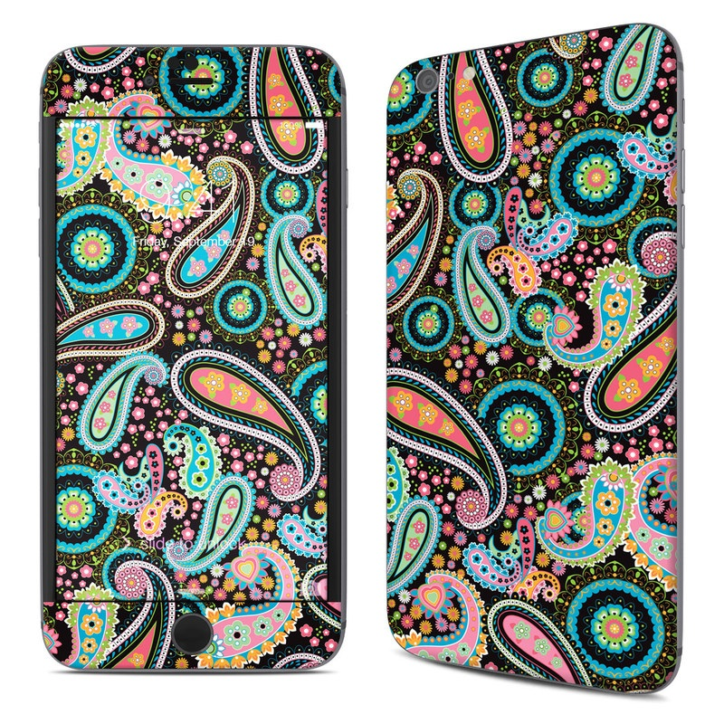 Crazy Daisy Paisley iPhone 6s Plus Skin