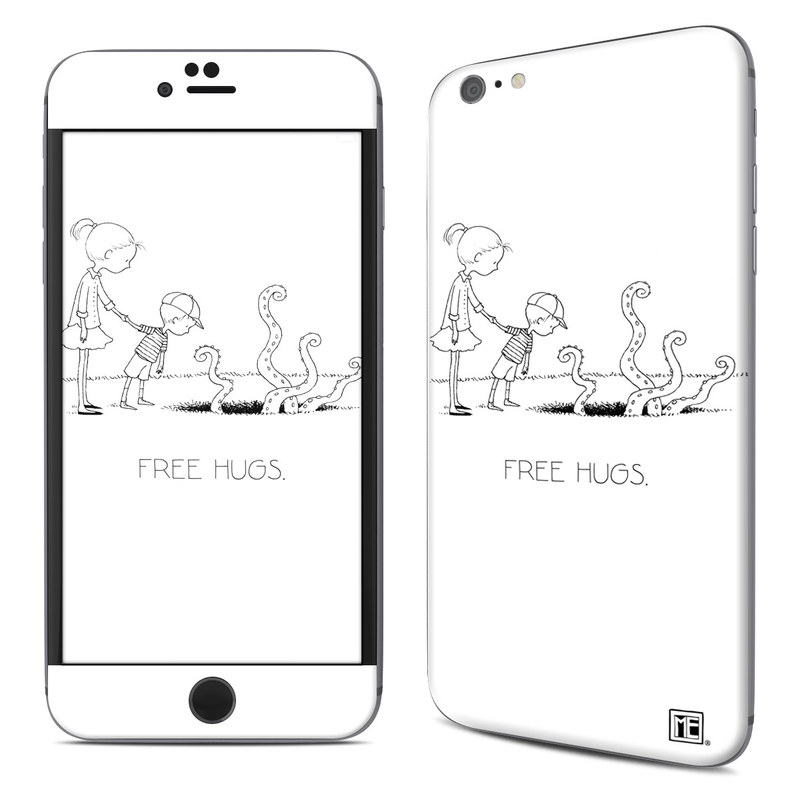 iPhone 6s Plus Skin design of Line art, Cartoon, Text, Drawing, Illustration, Coloring book, Black-and-white, Child, Art with black, white colors
