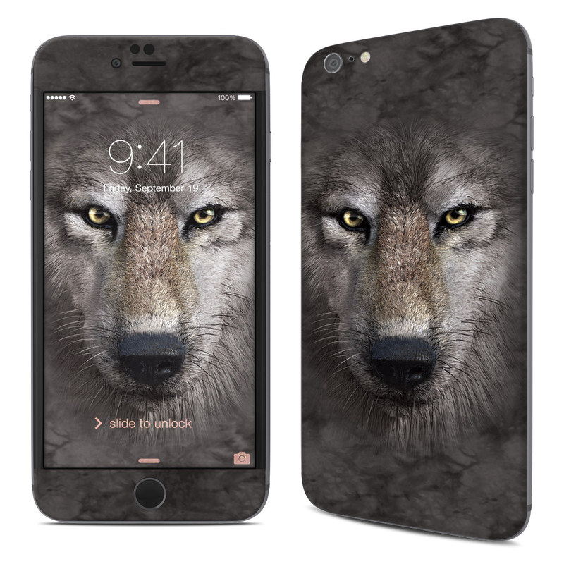 Grey Wolf iPhone 6s Plus Skin