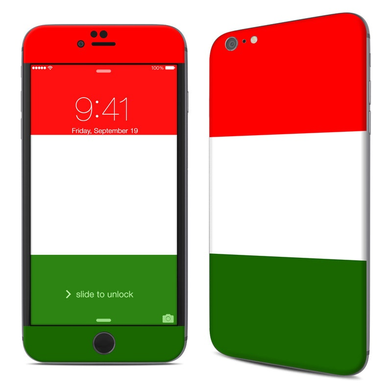 Italian Flag iPhone 6s Plus Skin
