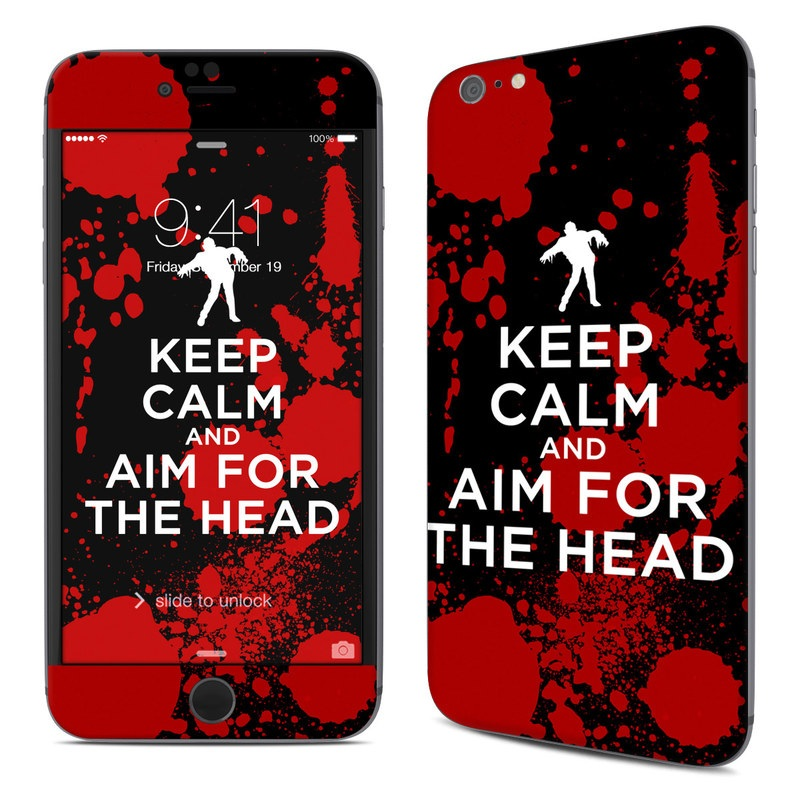 Keep Calm - Zombie iPhone 6s Plus Skin