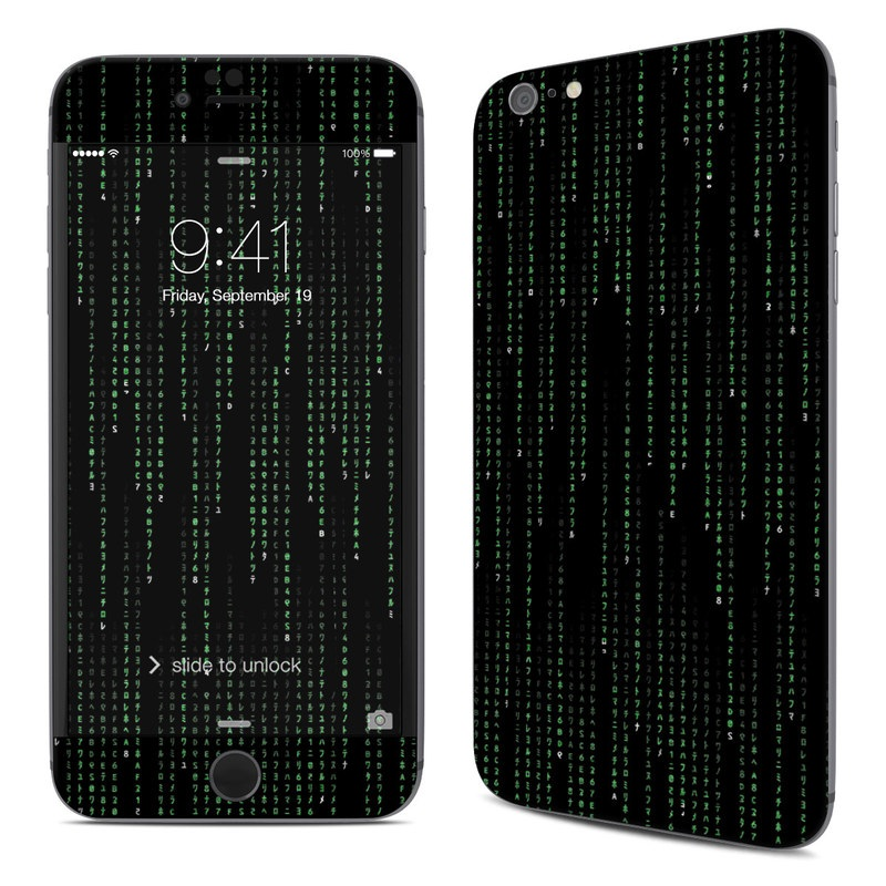 Matrix Style Code IPhone 6s Plus Skin