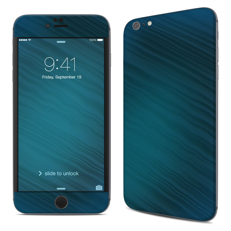 Rhythmic Blue iPhone 6s Plus Skin