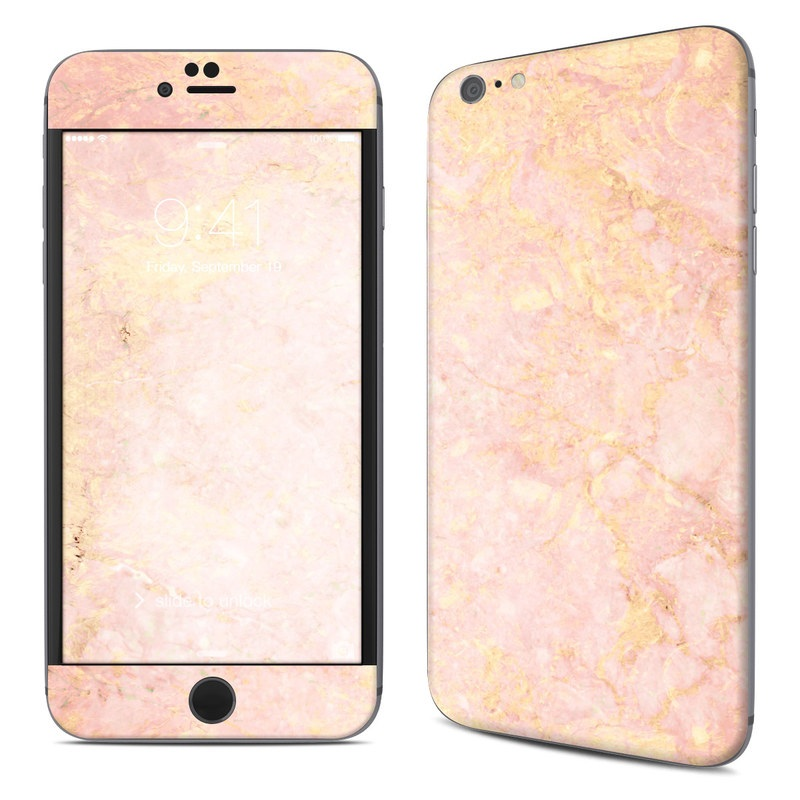 Rose Gold Marble iPhone 6s Plus Skin