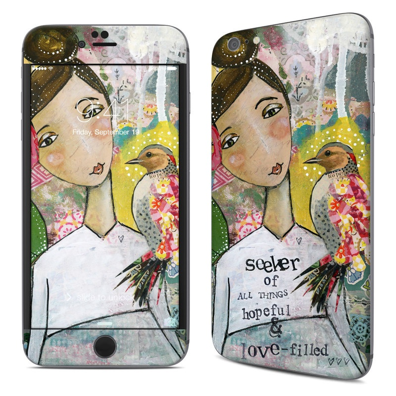 iPhone 6s Plus Skin design of Art, Painting, Illustration, Visual arts, Watercolor paint, Acrylic paint, Flower, Plant, Paint, Modern art with white, green, pink, red, yellow colors