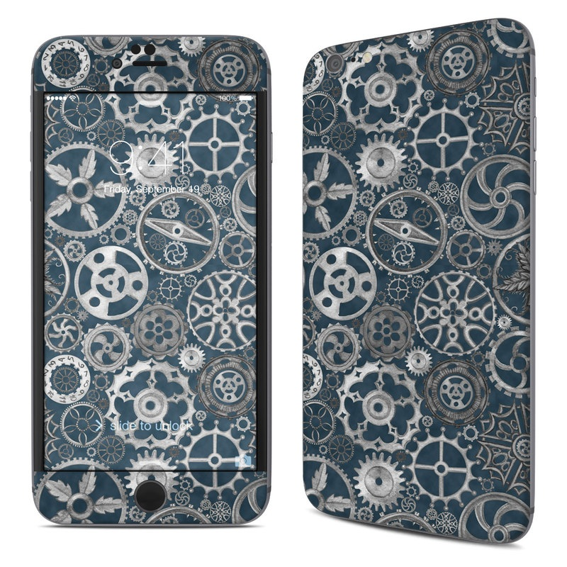 Silver Gears iPhone 6s Plus Skin