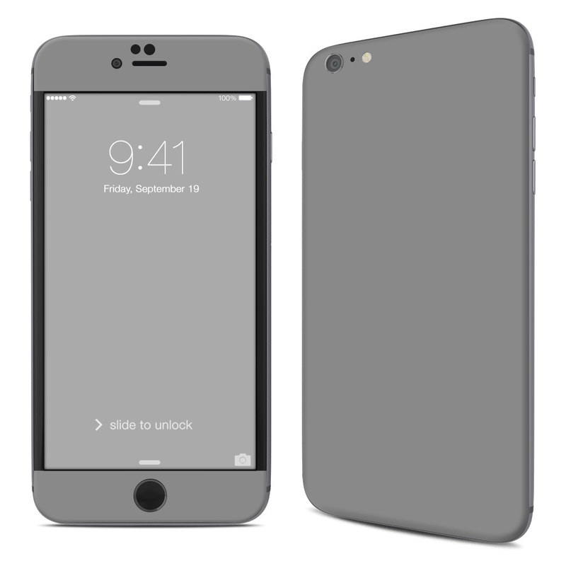 Solid State Grey iPhone 6s Plus Skin