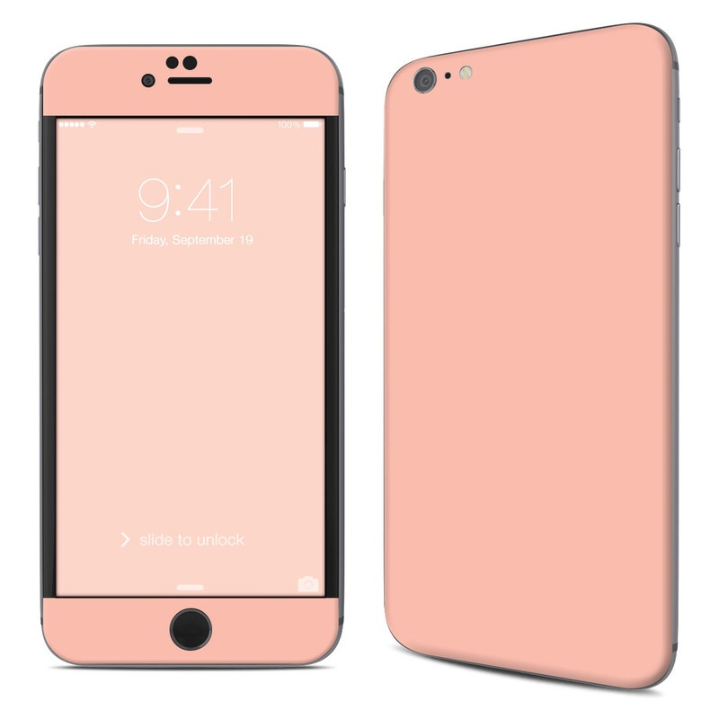 Solid State Peach iPhone 6s Plus Skin