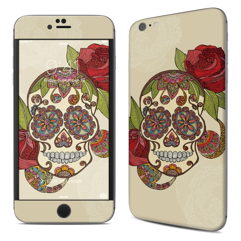 Sugar Skull iPhone 6s Plus Skin