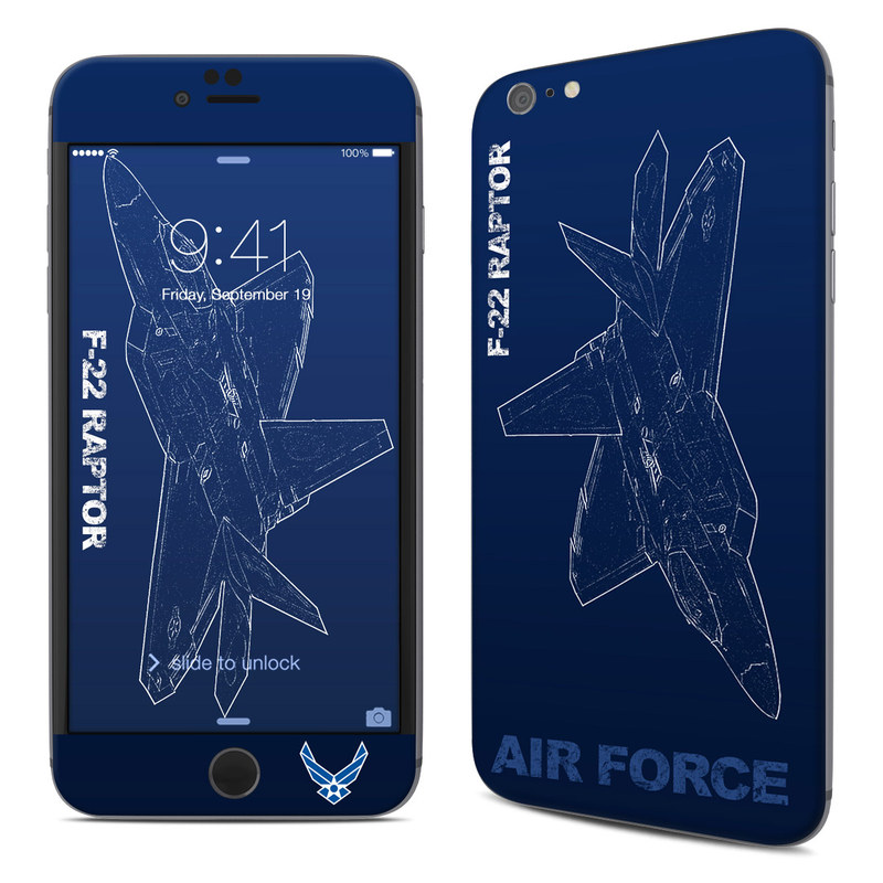 F-22 Raptor iPhone 6s Plus Skin