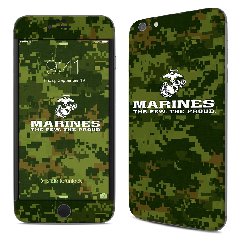 USMC Camo iPhone 6s Plus Skin