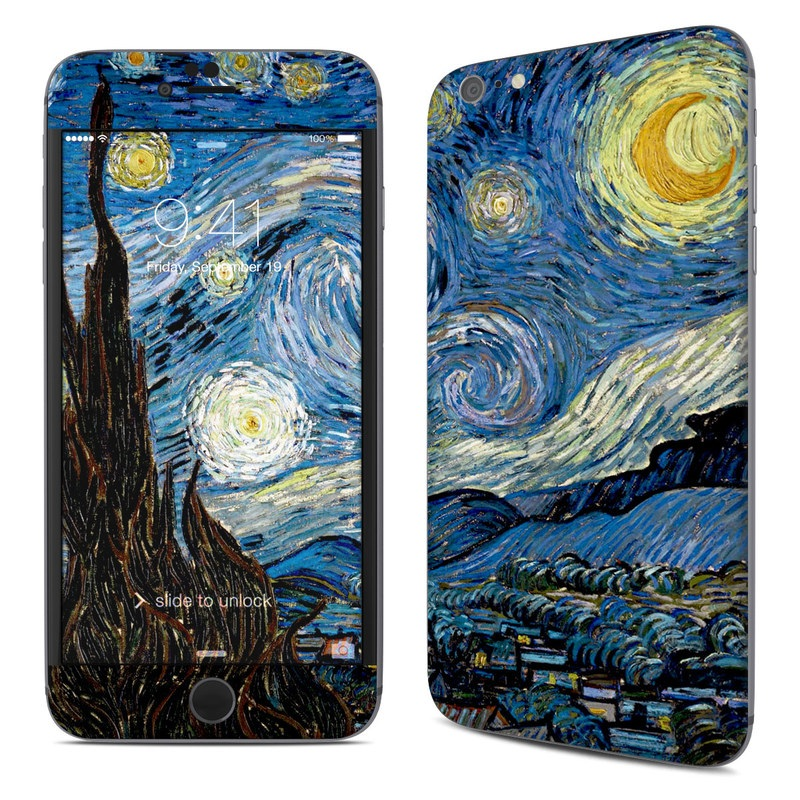iPhone 6s Plus Skin design of Painting, Purple, Art, Tree, Illustration, Organism, Watercolor paint, Space, Modern art, Plant with gray, black, blue, green colors