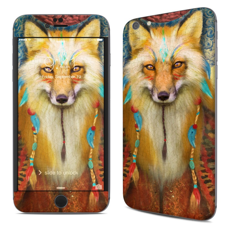 Wise Fox iPhone 6s Plus Skin