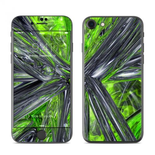 Emerald Abstract iPhone 7 Skin
