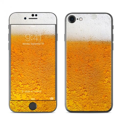 Beer Bubbles iPhone 7 Skin