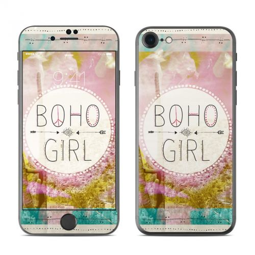 Boho Girl iPhone 7 Skin