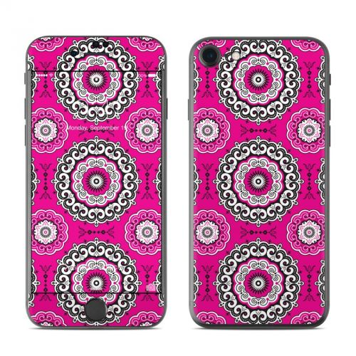 Boho Girl Medallions iPhone 7 Skin