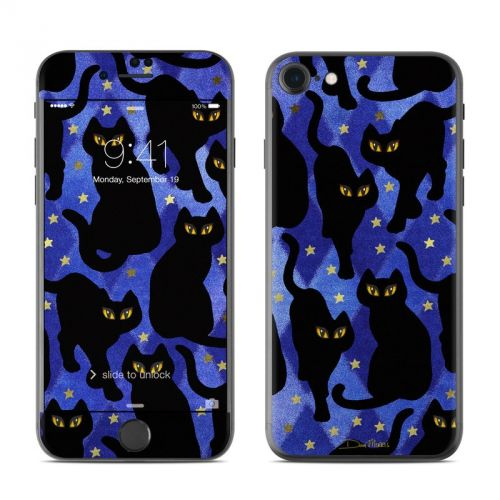 Cat Silhouettes iPhone 7 Skin