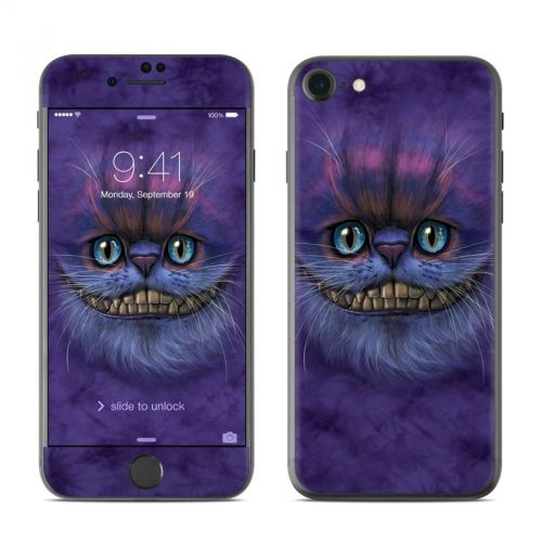 Cheshire Grin iPhone 7 Skin