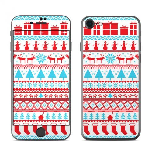 Comfy Christmas iPhone 7 Skin