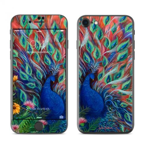 Coral Peacock iPhone 7 Skin