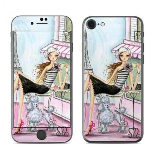 Cafe Paris iPhone 7 Skin